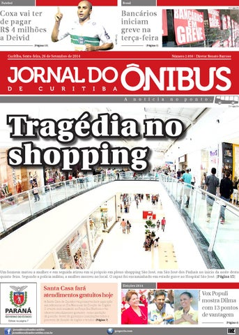 69c1bc06eb Jornal do Ônibus de Curitiba - Edição 26/09/2014 by Editora Correio ...