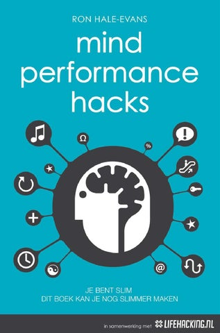 Mind Performance Hacks Download By Edwin Stoop Issuu