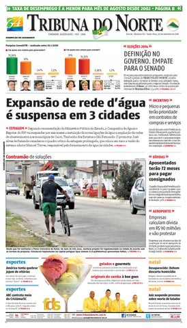 Tribuna do Norte - 26 09 2014 by Empresa Jornalística Tribuna do ... 504d44c092dab