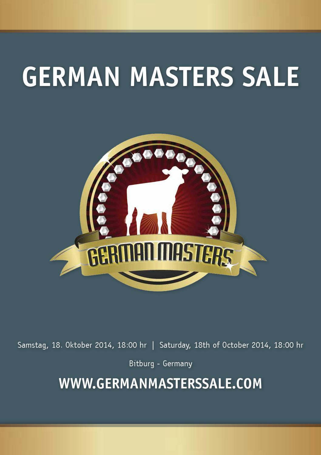 German Masters Sale Catalogue by Arjan van der Vlis - issuu