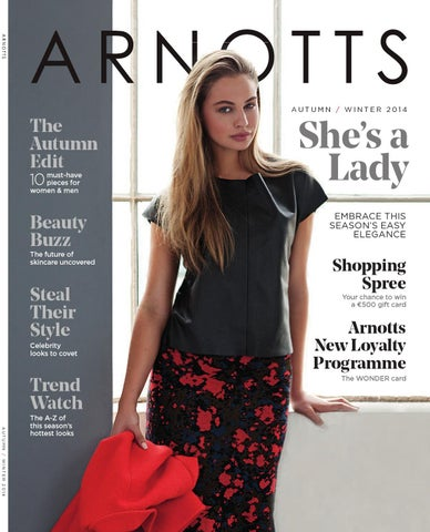 04c73d86d67 Arnotts AW2014 Magazine by Arnotts - issuu