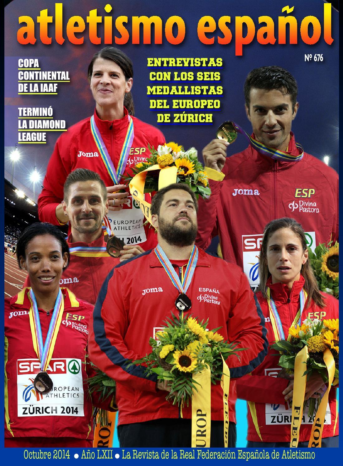 Nº676 aeoctubre 2014 by atletismo español - issuu ecd5ee44a8f