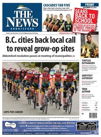 Abbotsford News June 20 2014 By Black Press