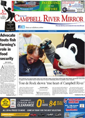 Campbell River Mirror September 26 2014 By Black Press Issuu