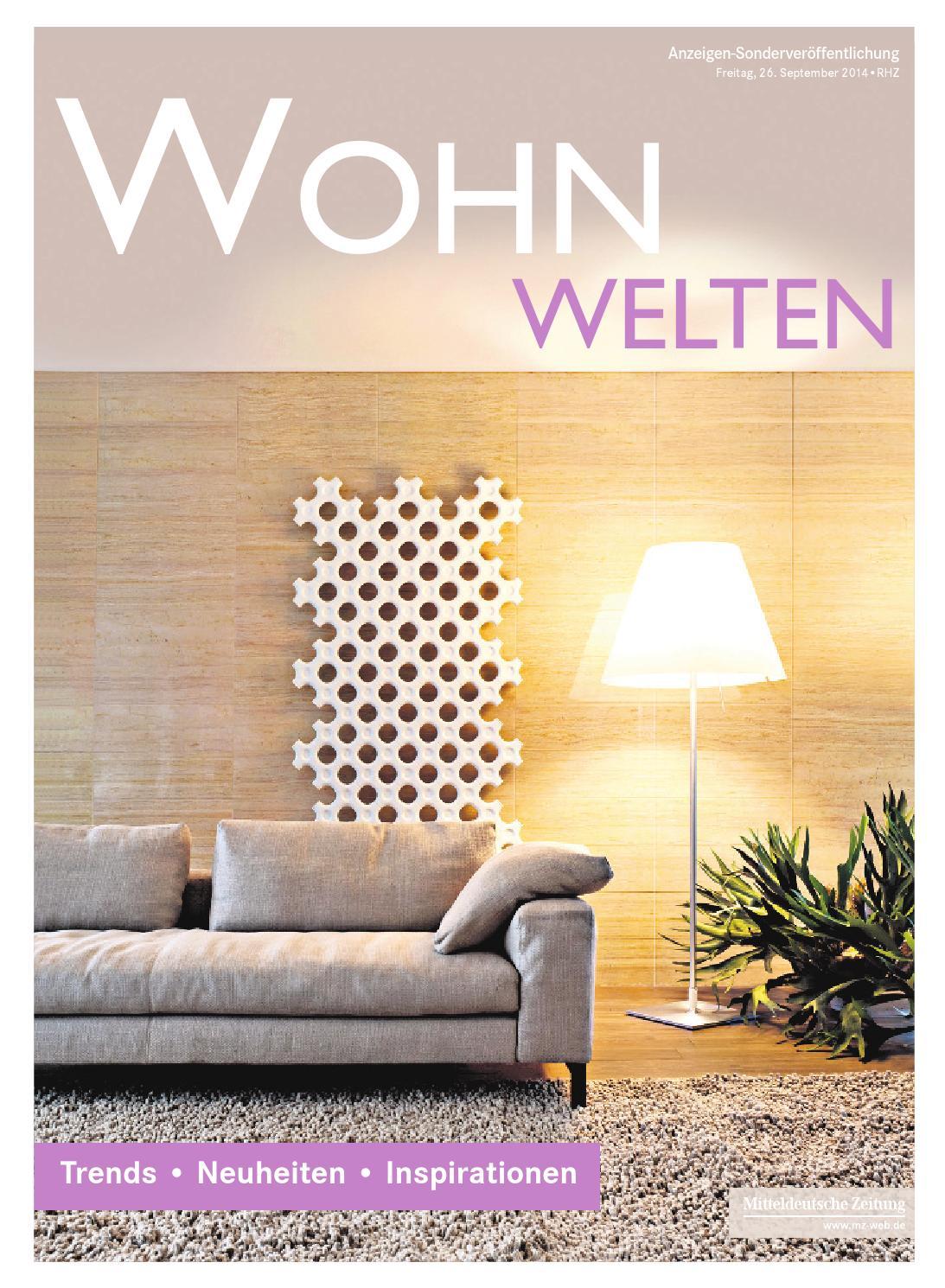 Wohnwelten RHZ by Mediengruppe Mitteldeutsche Zeitung GmbH & Co. KG ...