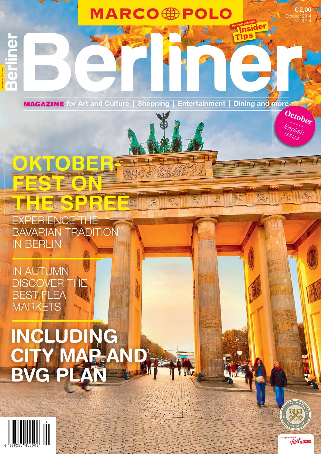 English - MARCO POLO BERLINER 10/14 by Berlin Medien GmbH - issuu