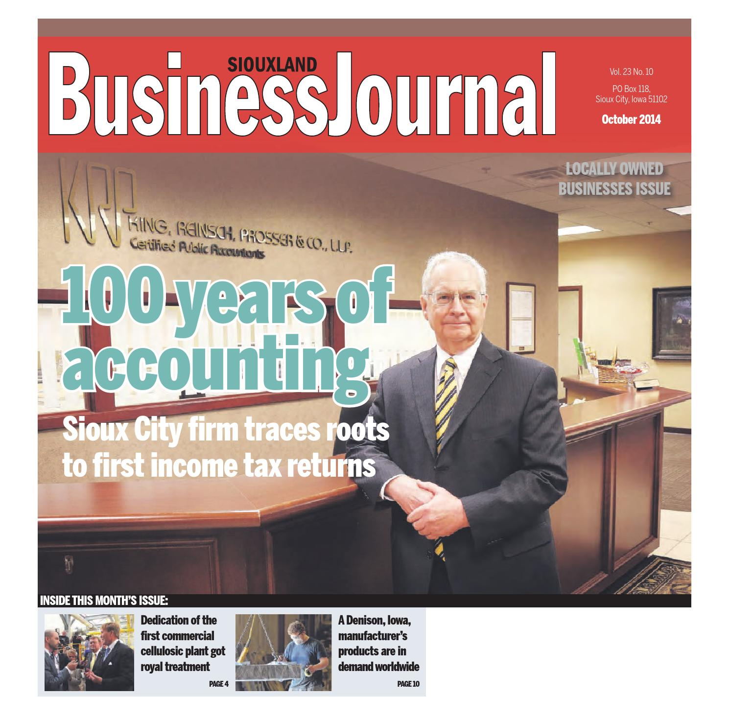 siouxland business journal october 2014 by sioux city journal