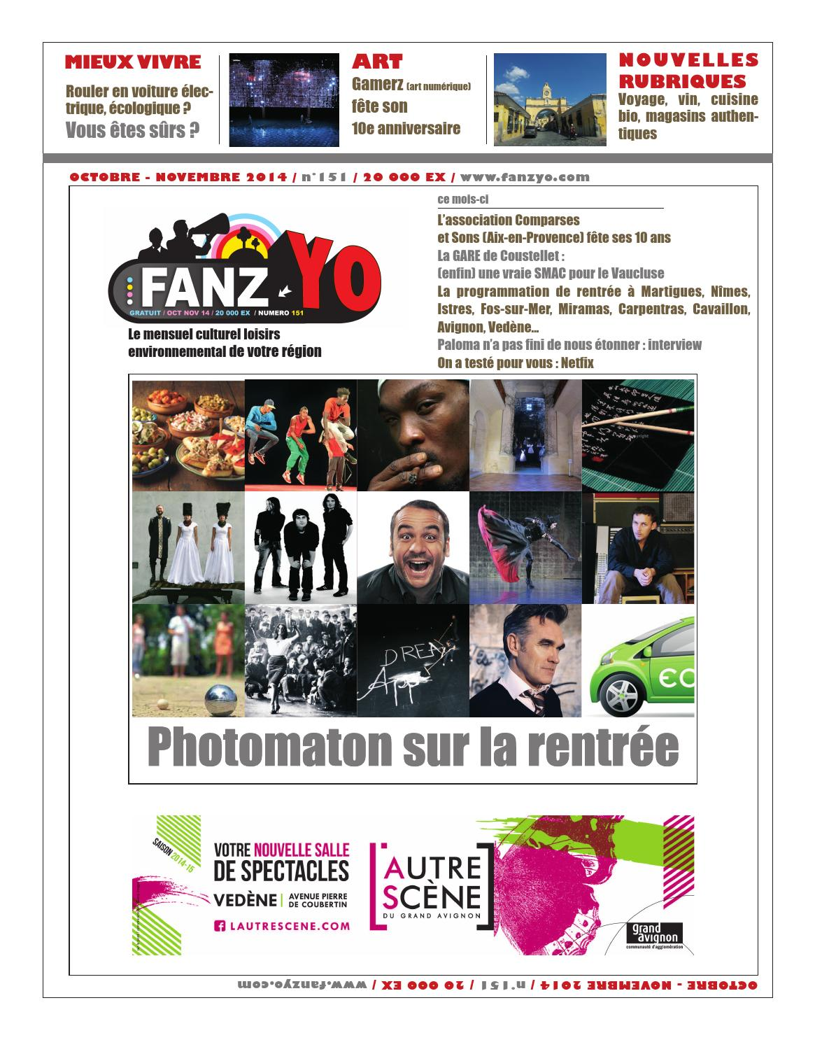 Fanz 39 yo oct nov 2014 by regie issuu - Magasin bio carpentras ...