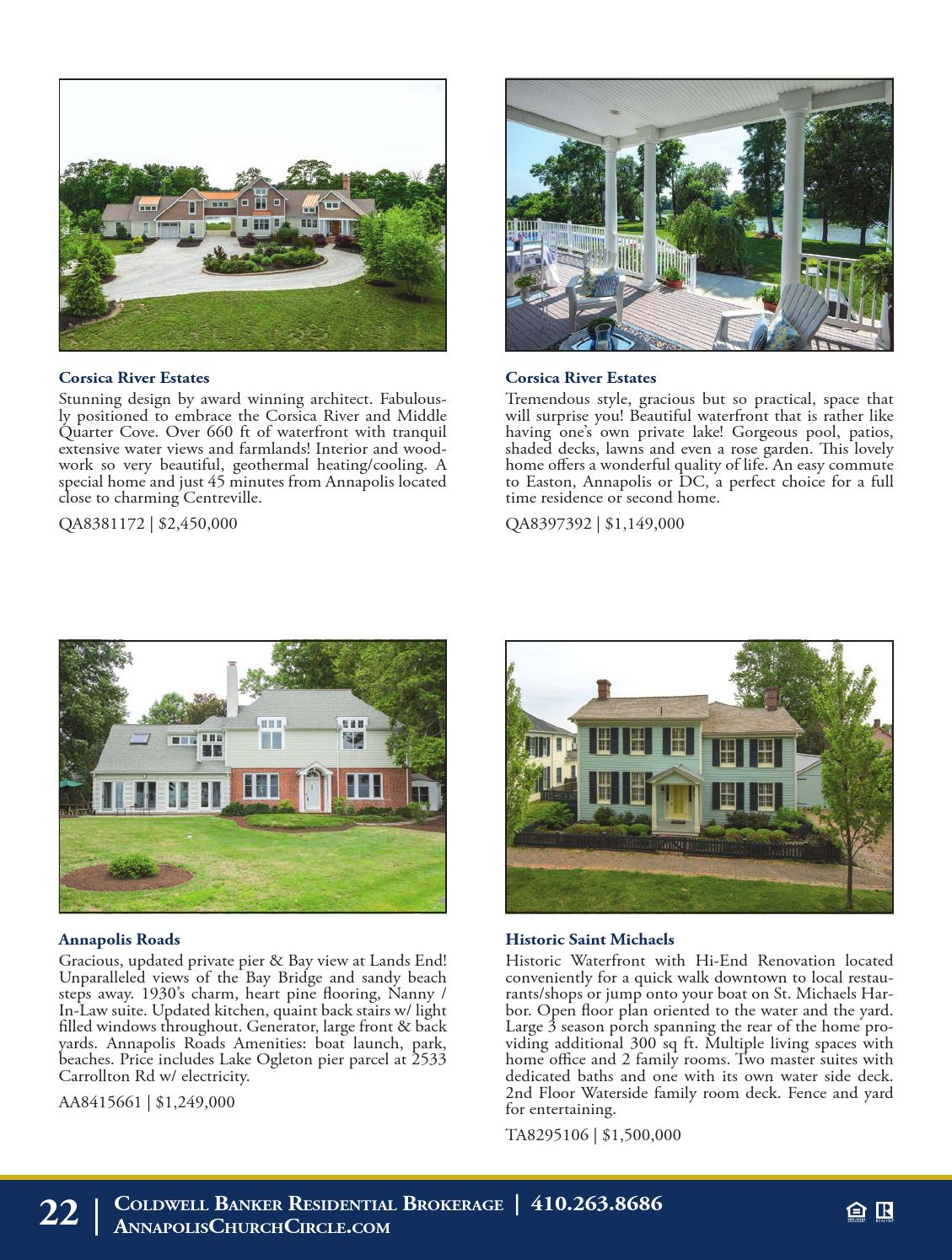 Cb Residential Brokerage Annapolis Distinctive Properties