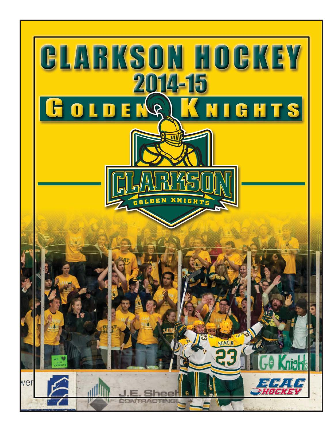 7740096da219 2014-15 Clarkson University Hockey Media Guide by Gary Mikel - issuu