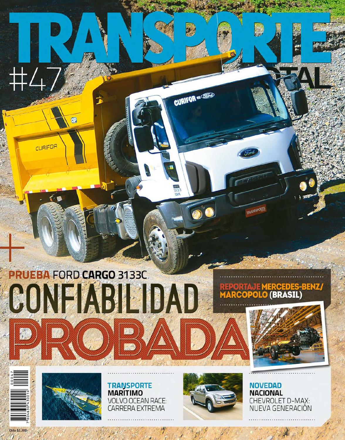 Transporte Total Chile (N°47 Septiembre-Completa) by RS Chile - issuu