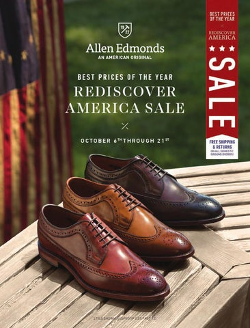 a58f689d7901 Allen Edmonds 2014 Rediscover America Sale Catalog by Allen Edmonds ...