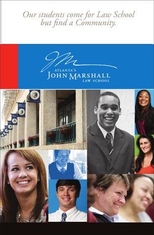 Nice Atlantau0027s John Marshall Law School Viewbook 2014