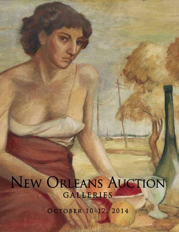 Decorative Arts Genteel Vintage Nestor Fruge Watercolor Painting New Orleans Louisiana Listed Lantern Distinctive For Its Traditional Properties