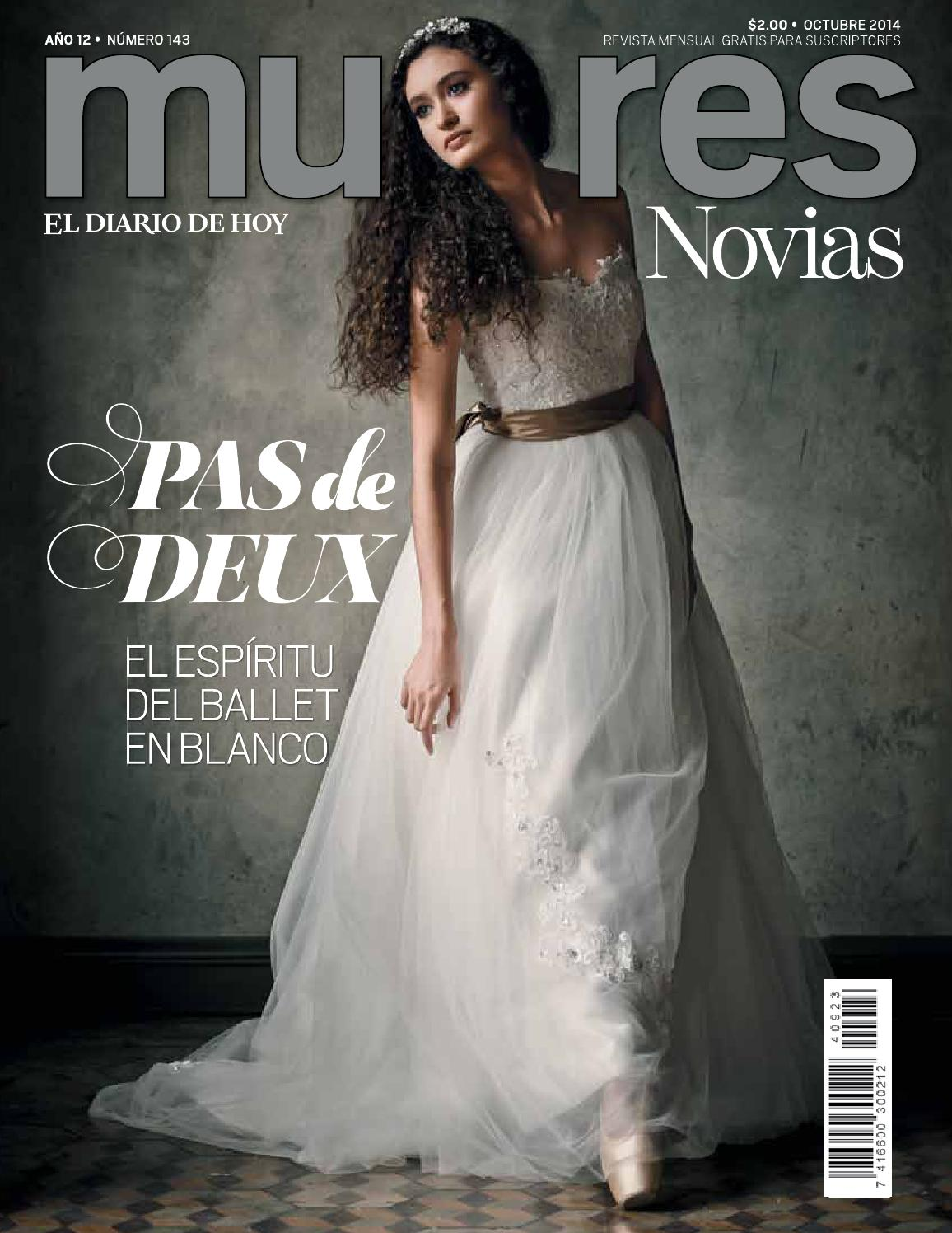 Mujeres Octubre Novias 2014 by Grupo Editorial Altamirano - issuu