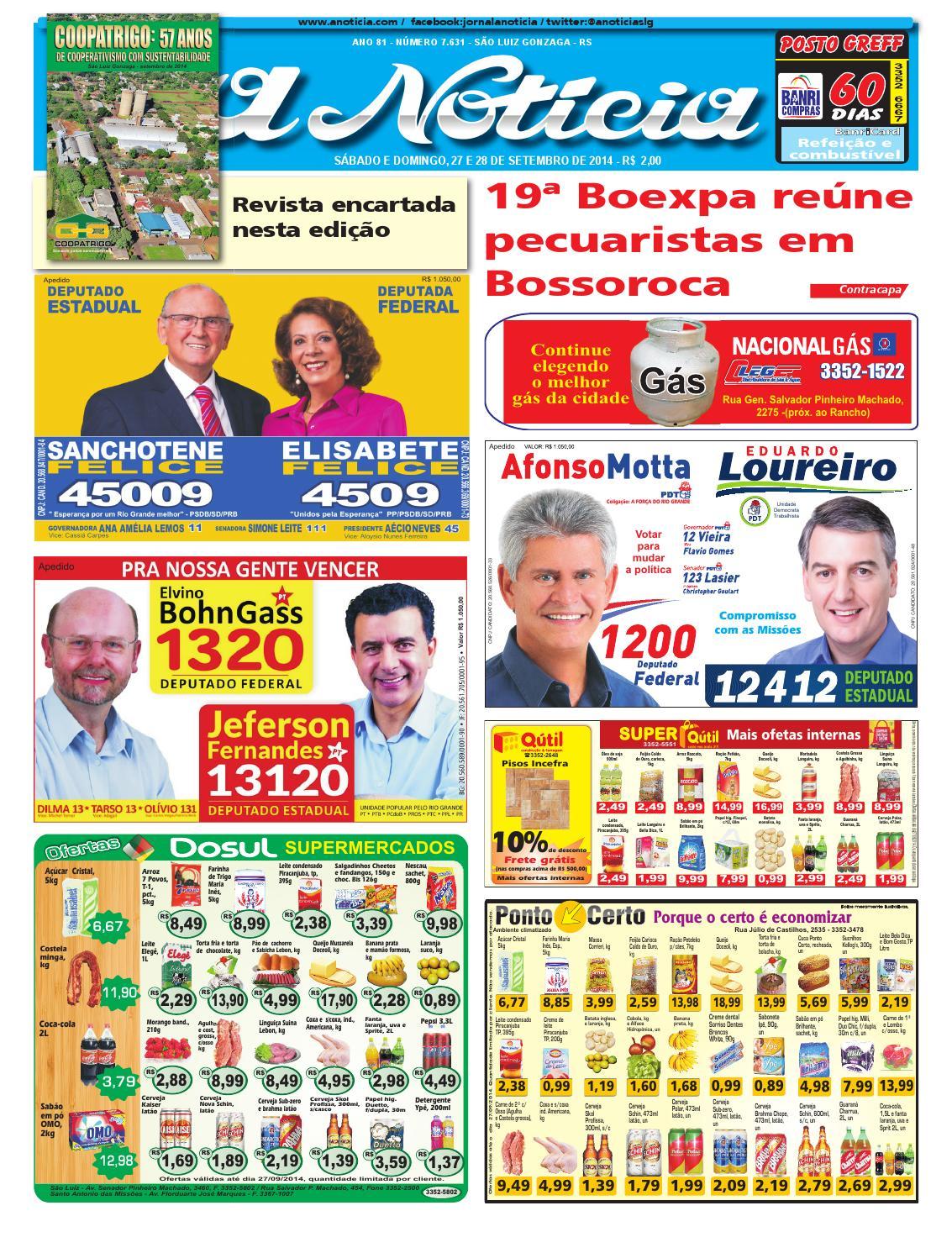 5f8d8aa2b3 Edição de 27 e 28 de setembro de 2014 by Jornal A Notícia - issuu