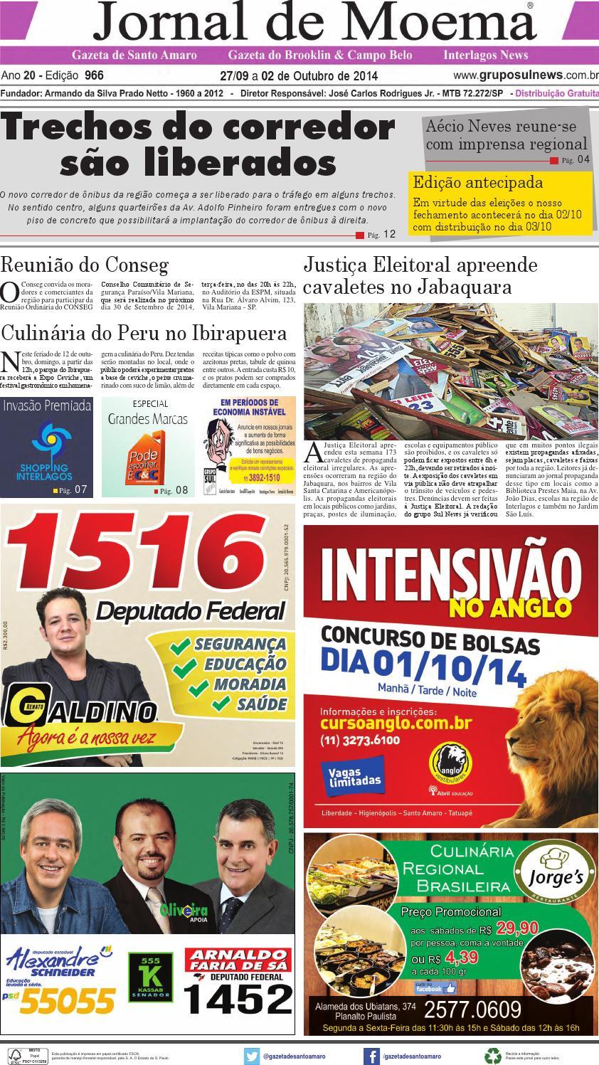 e5723a1a9 Edição 966 - 27 de Setembro a 02 de Outubro de 2014 by Grupo Sul News -  issuu