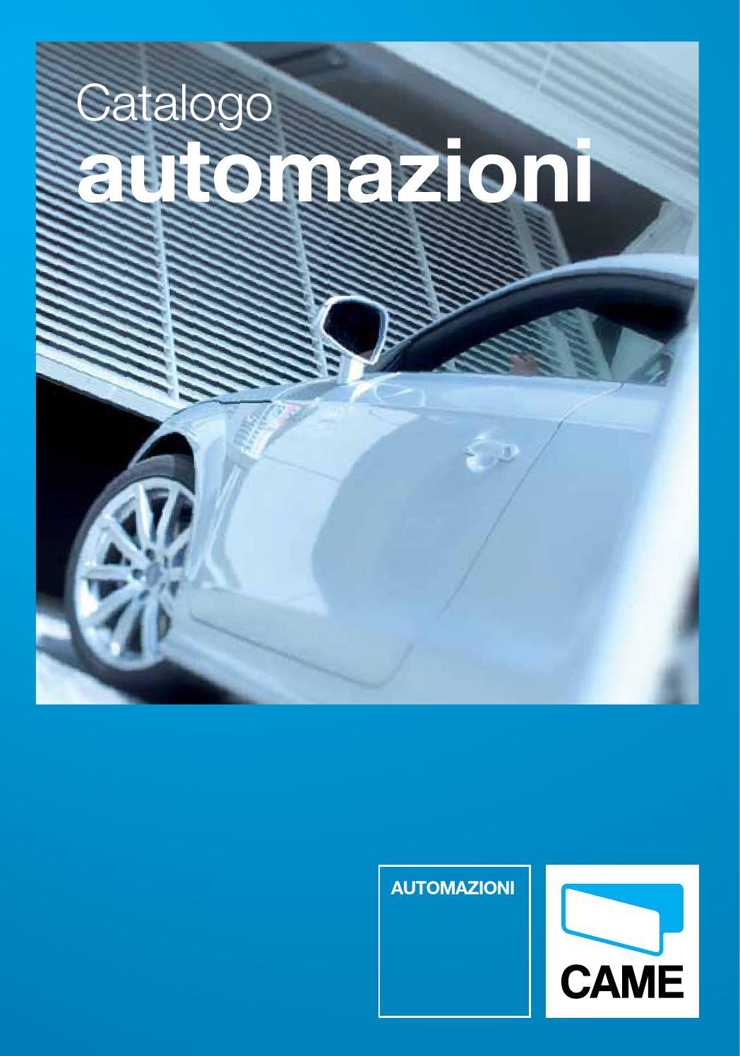 Catalogo Automazioni Came By Automazione Residenziale S R L Issuu