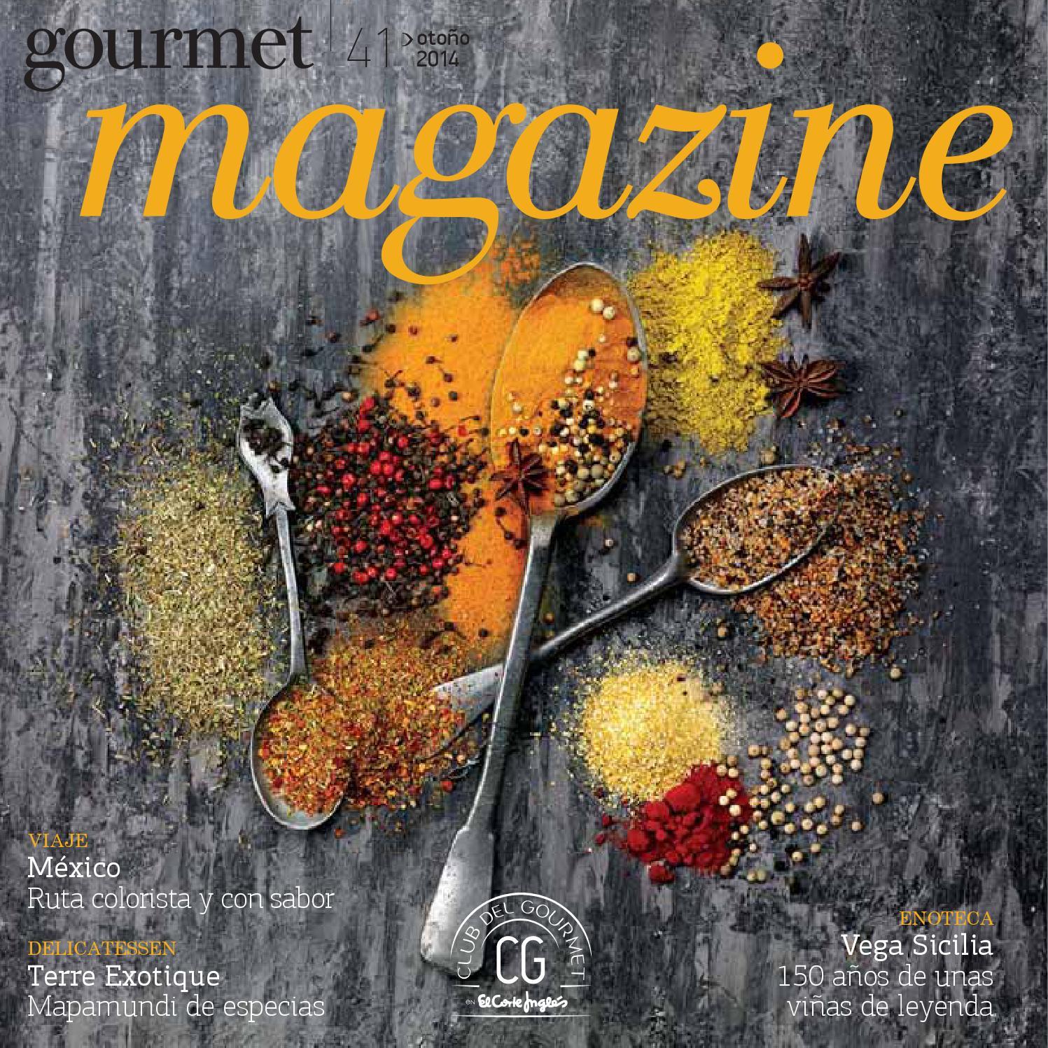 El Corte Ingl S Gourmet Magazine Invierno 2013 By Andr Gon Alves  ~ Album De Fotos Tradicional El Corte Ingles
