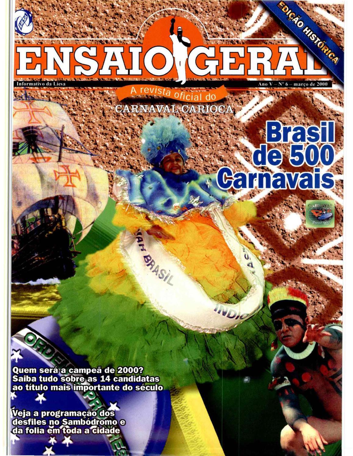 Revista Ensaio Geral nº 06 by Portal Academia do Samba - issuu d31e13f200e47