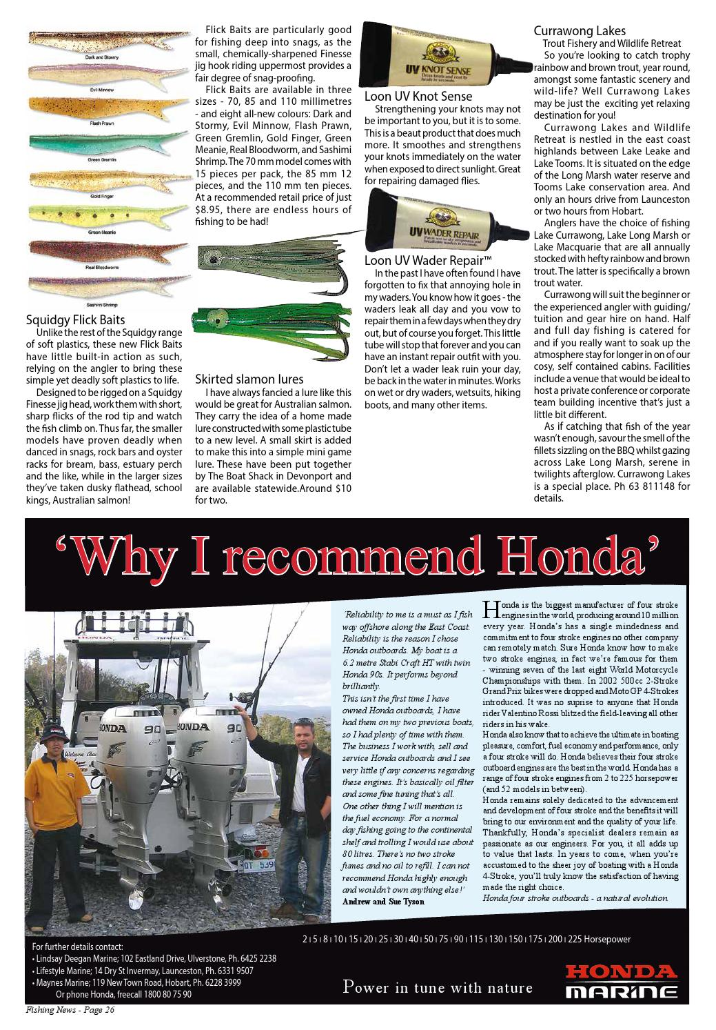 Tasmanian Fishing and Boating News Issue 057 2005 August by