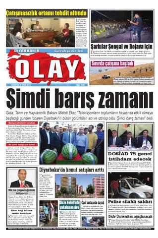 27 09 2014 Gazete Sayfalari By Diyarbakir Olaygazetesi Issuu