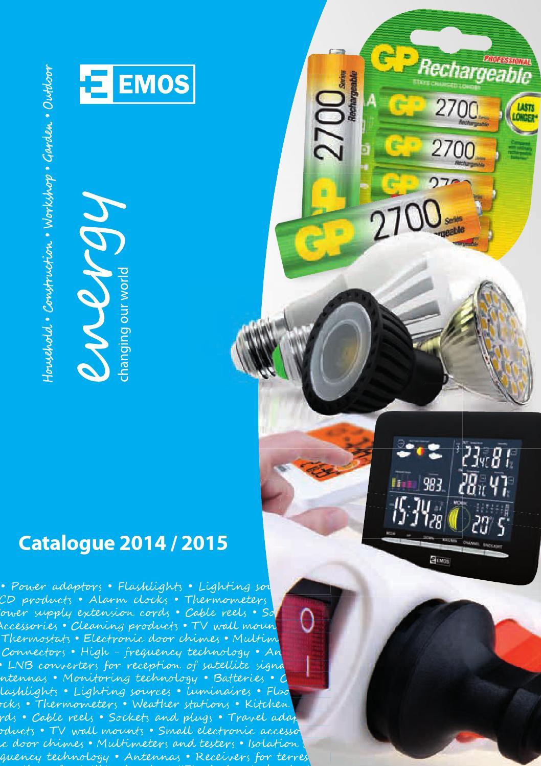 Katalg Emos 2014 2015 By El Com Elektro Issuu H05rrf Outdoor Electrical Cable Per Meter Water Gardening Direct