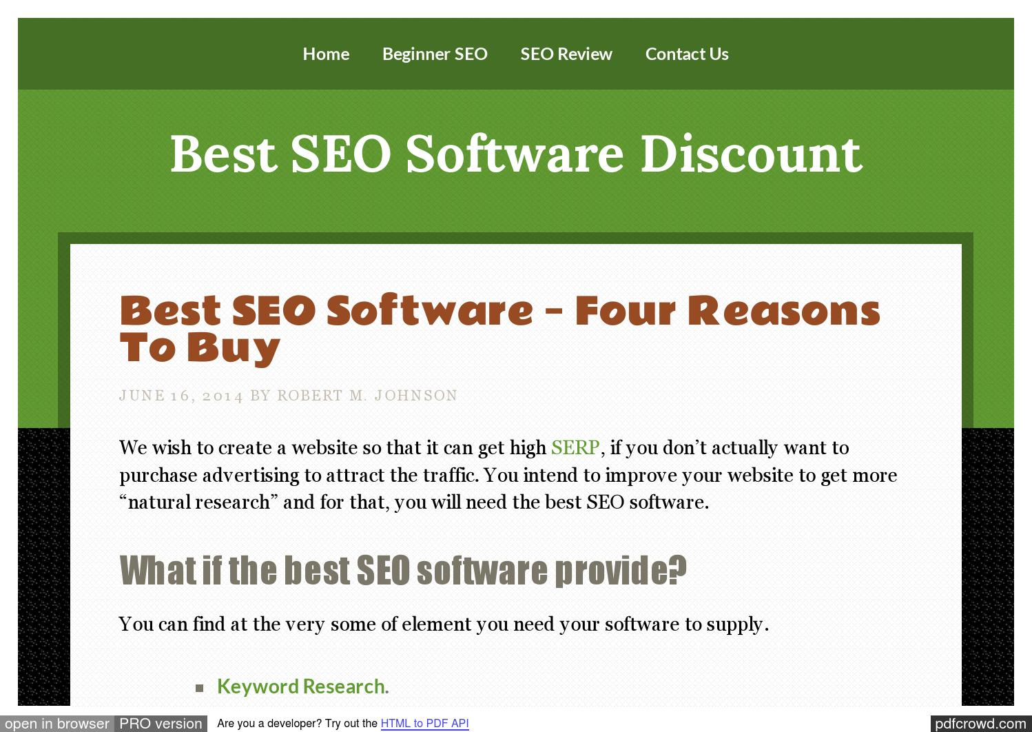 Buy best seo softwares ibp discount by Ngan Son - issuu