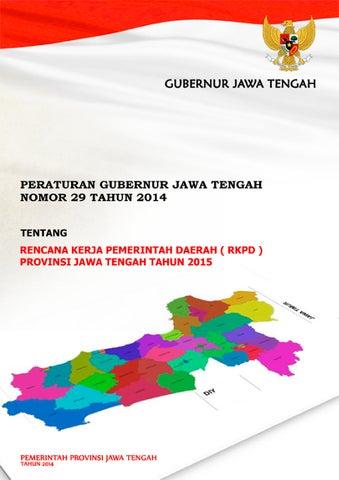 Rkpd Provinsi Jawa Tengah 2015 By Bappeda Prov Jateng Issuu