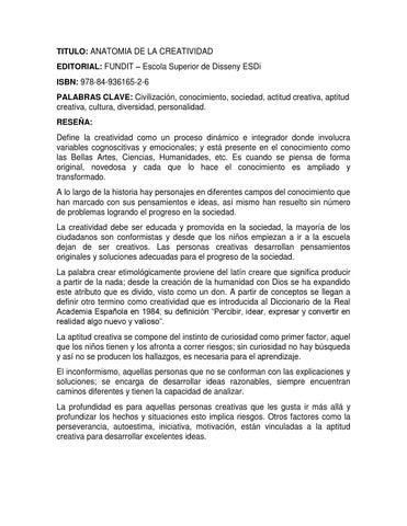 Libros de creatividad by Natalia Aragón Prieto - issuu