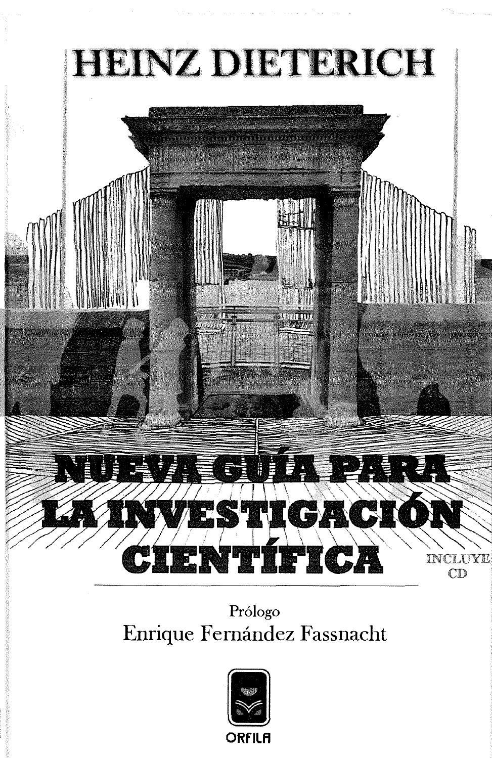Nueva guía para la investigación científica. by José-Carlos Castañeda Fernández-de-Lara - issuu
