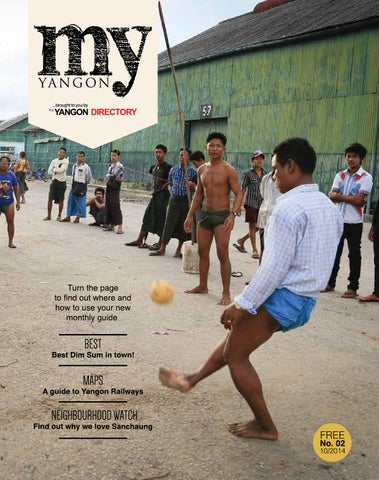 My Yangon October Issue By My Yangon Magazine Issuu