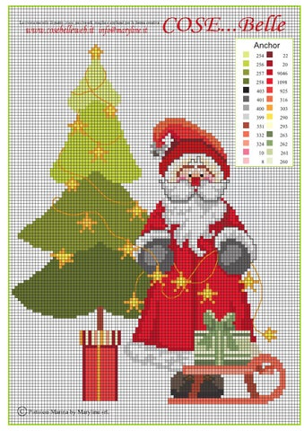 Babbo Natale Punto Croce Schemi Gratis.Punto Croce Schemi Gratis By Cosebelleweb Issuu