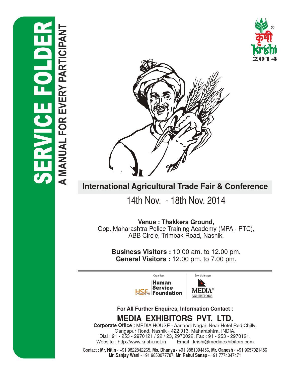 Exhibition Stall Checklist : Krishi exhibitors manual by krishithon issuu