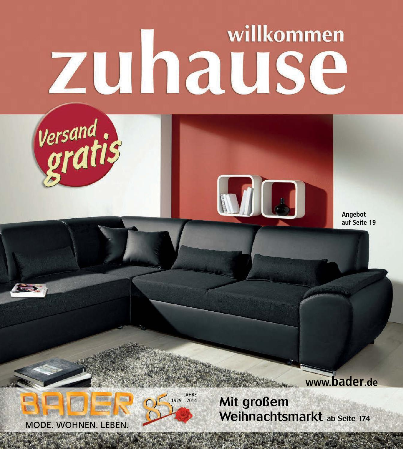 bader zuhause by 1001katalog issuu. Black Bedroom Furniture Sets. Home Design Ideas