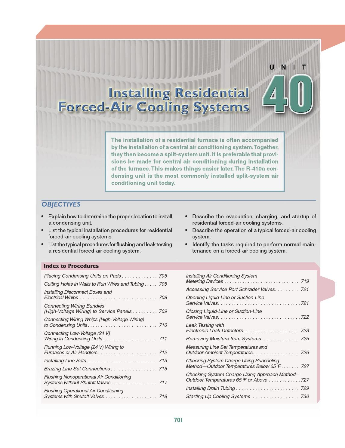 Hvacunit40 By American Technical Publishers Issuu Residential Wiring Voltage