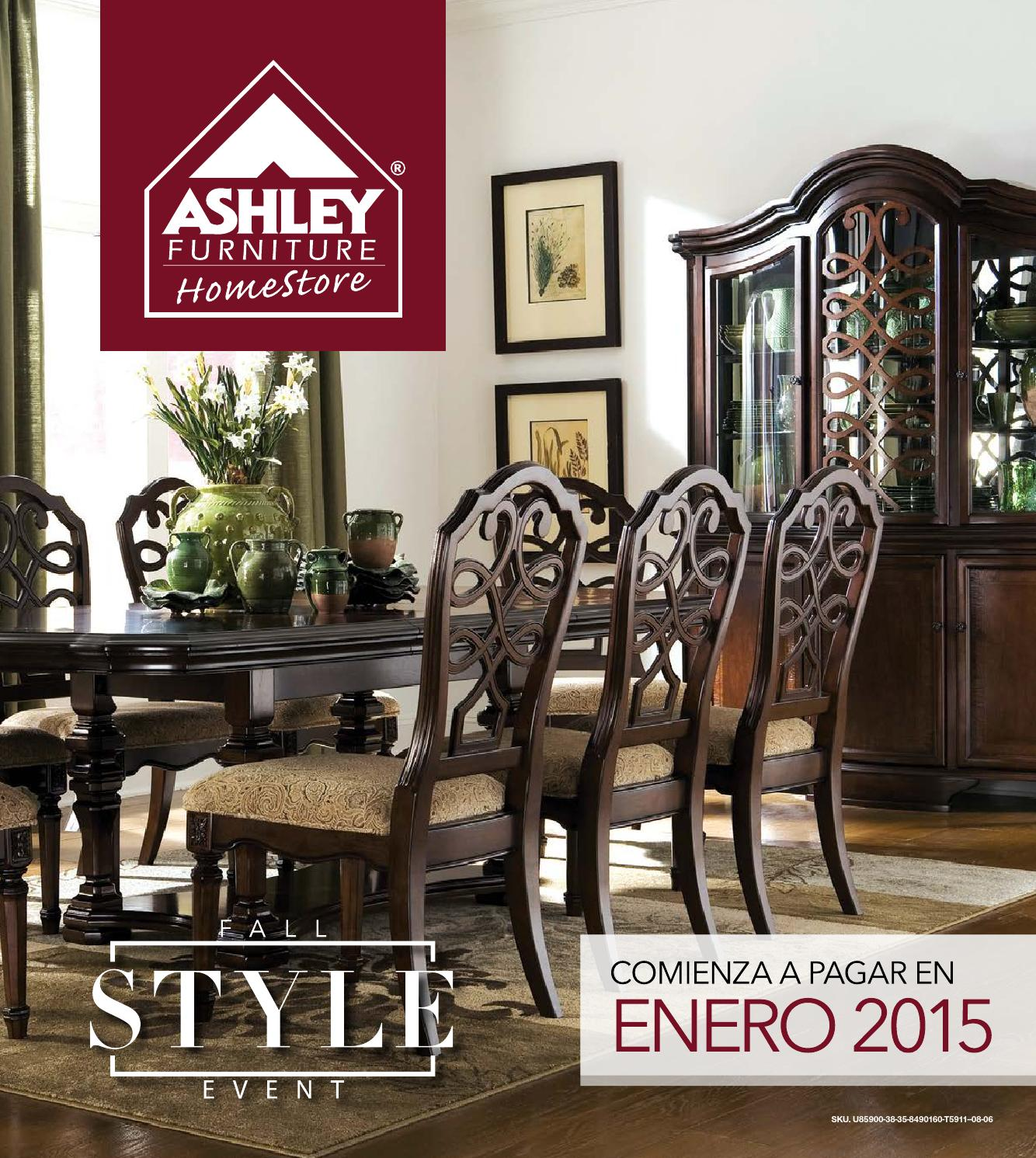 Homestore Inc: Fall Style Event By Ashley Furniture HomeStore RD