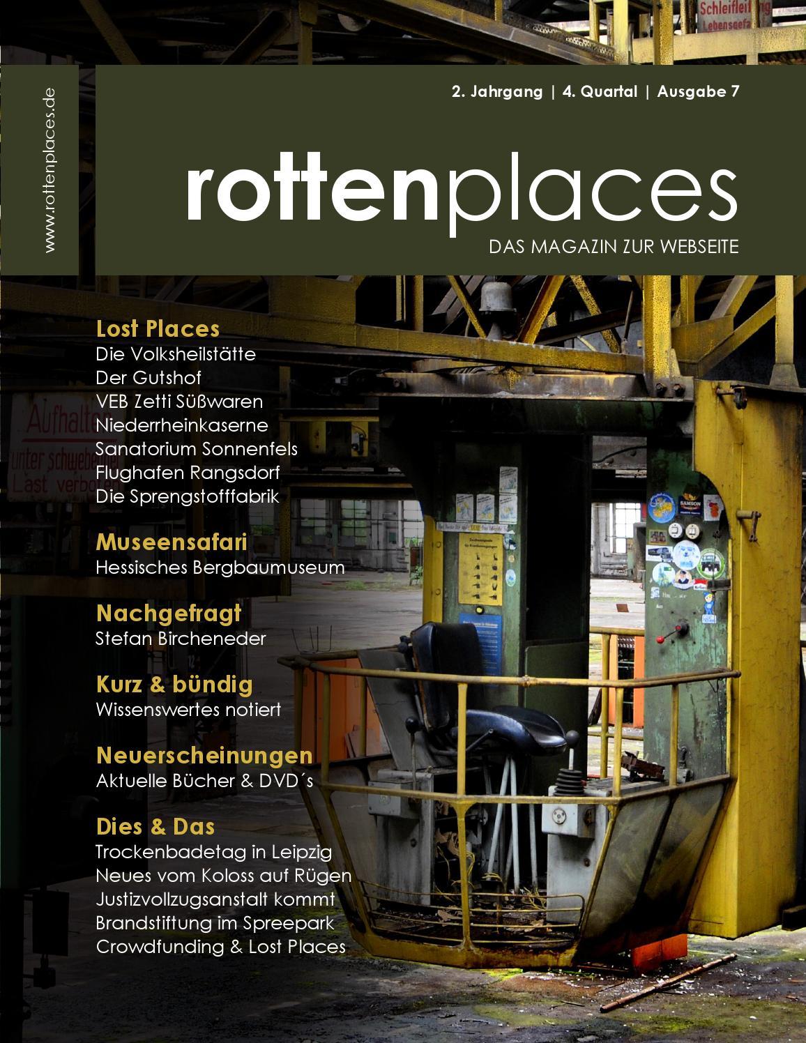 rottenplaces Magazin 4/2014 by rottenplaces.de - issuu