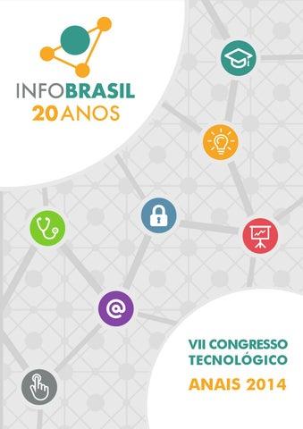 2c9226faf8f Anais 2014 - VII Congresso Tecnológico by Infobrasil - issuu