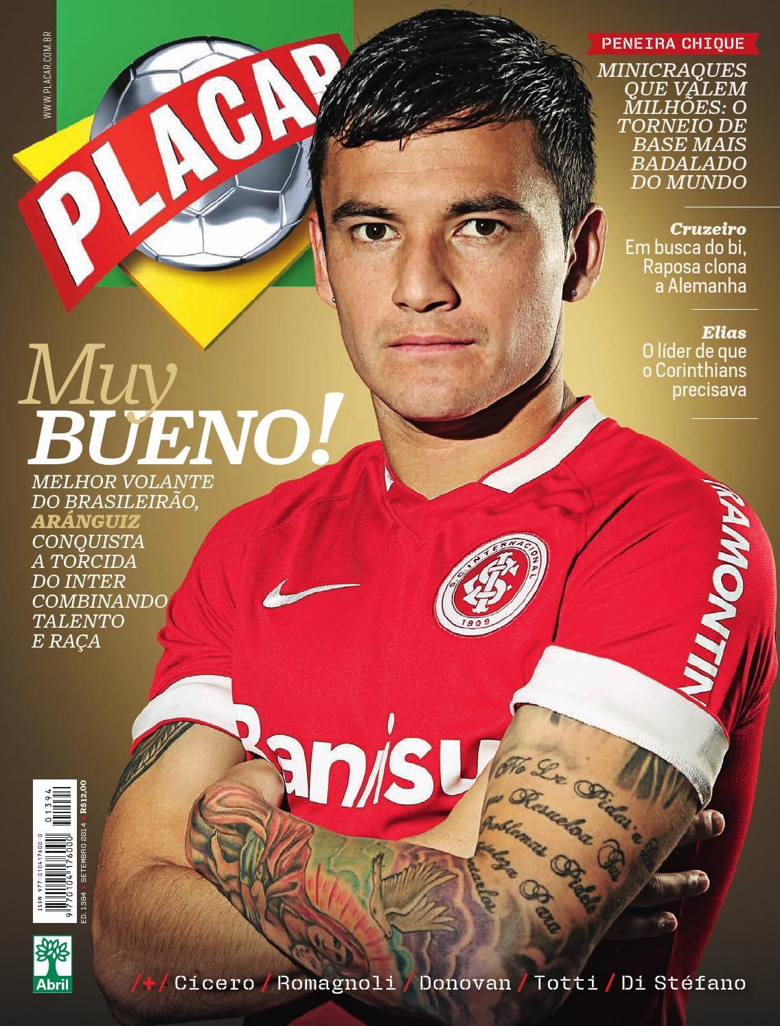 2c37cd294c Revista Placar – Editora Abril Edição 1394 – Setembro de 2014 by Revista  Placar - issuu