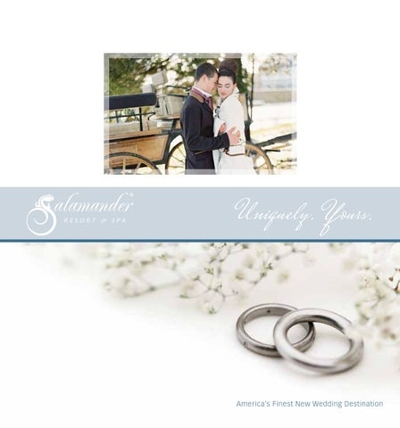 Salamander resort spa wedding storybook uniquely yours for A storybook ending bridal prom salon