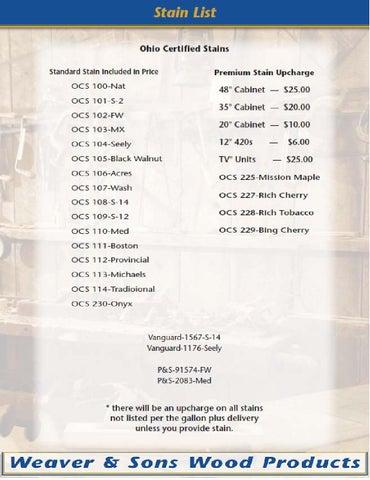 2014 Weaver U0026 Sons Catalog / Jewelry Boxes / E U0026 G Amish Furniture ...