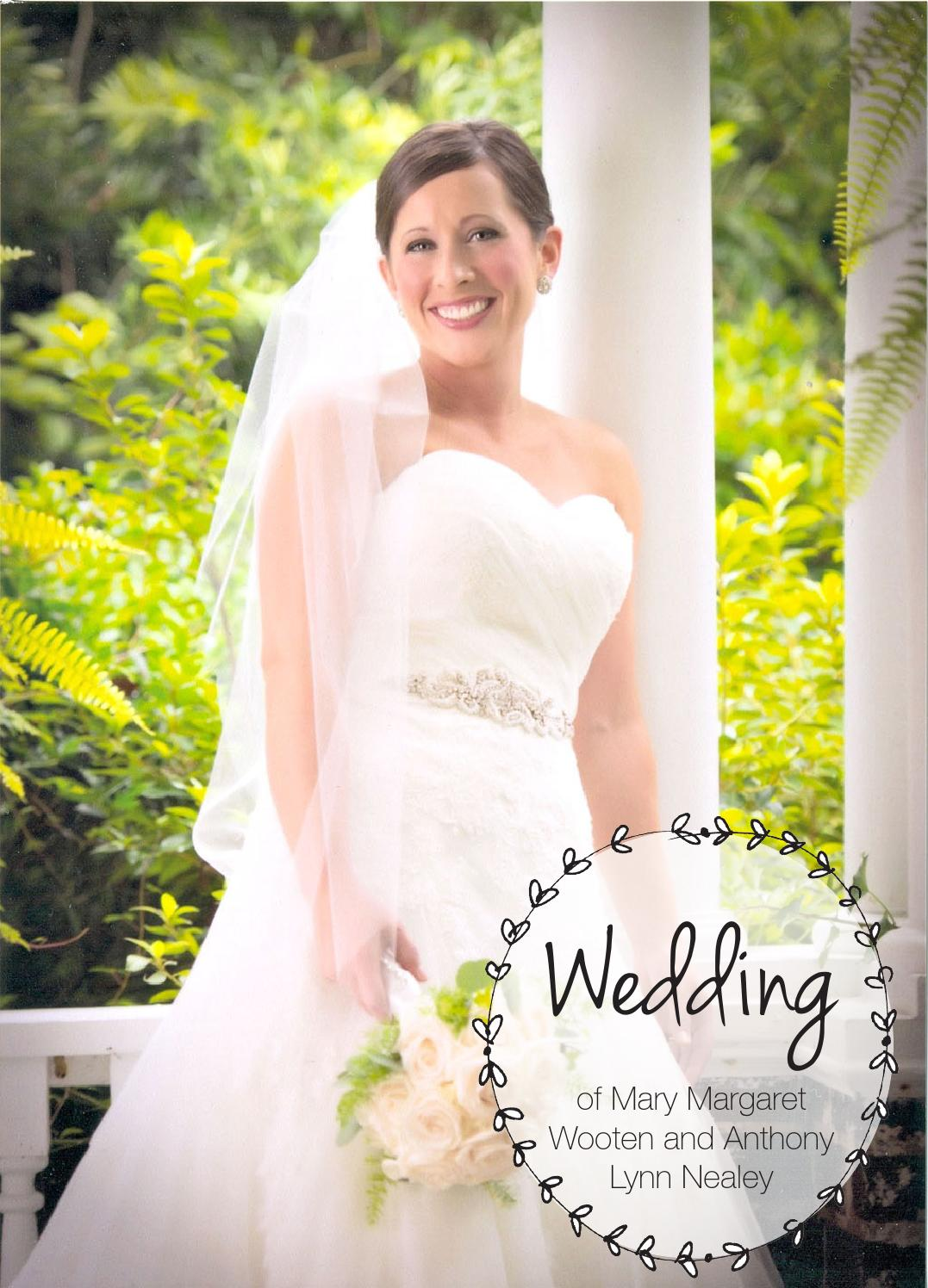 Wooten Nealey Wedding by The News Reporter - Issuu