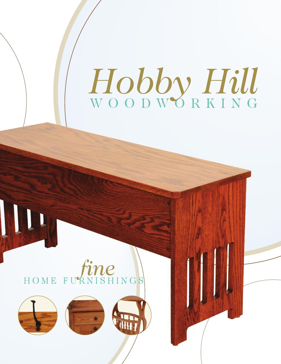 2014 Hobby Hill Woodworking Catalog / Home Furnishings / E ...