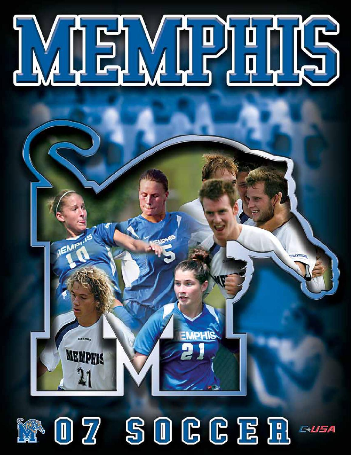 2007 Memphis Soccer Media Guide by University of Memphis Athletic Media  Relations - issuu 1a7ce1b3b