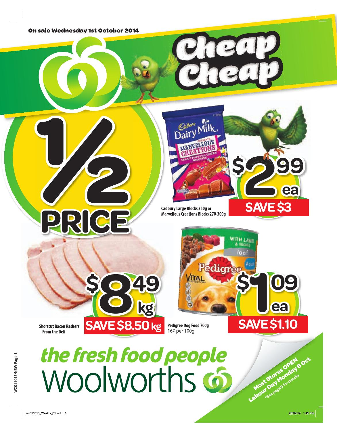 Nsw Woolworths 01 10 07 10 By Hojunara Issuu