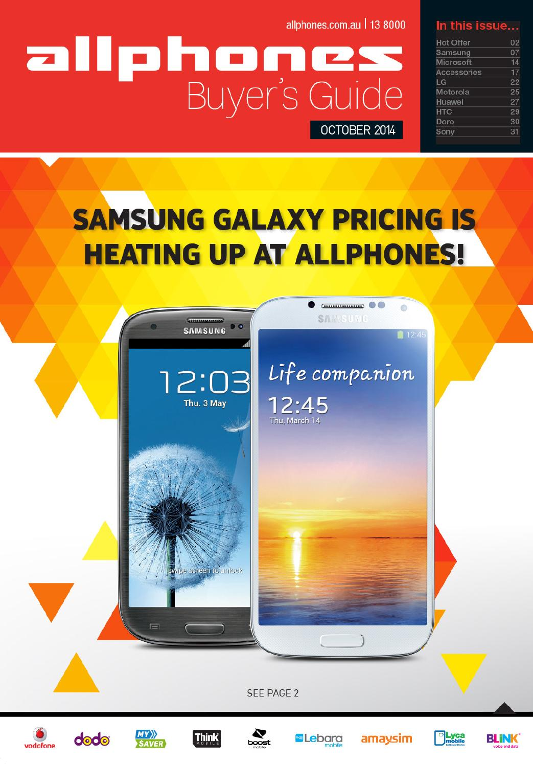 Allphones October Buyers Guide By Issuu Lg L20 4gb White
