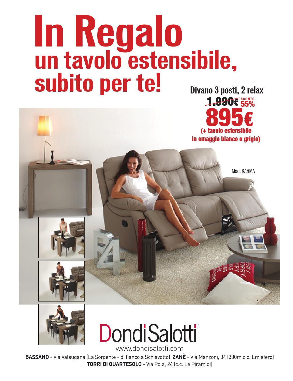 Dondi Salotti Torri Di Quartesolo.Online480 By La Piazza Srl Issuu