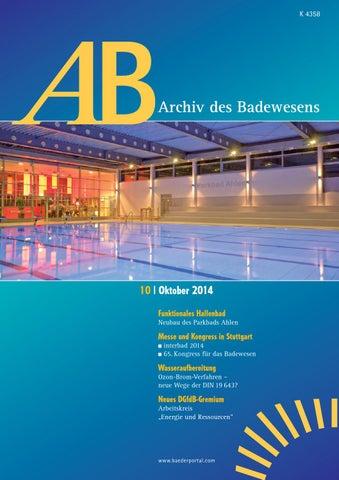 2014 10 00 by Baederportal - issuu