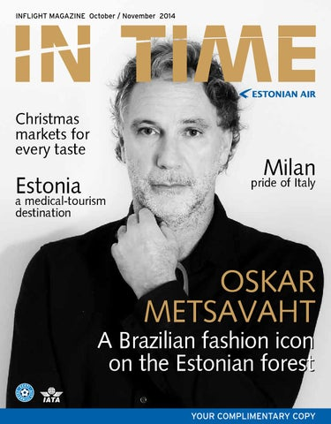 5ad273e9eff InTime October / November 2014 by Estonian Air - issuu
